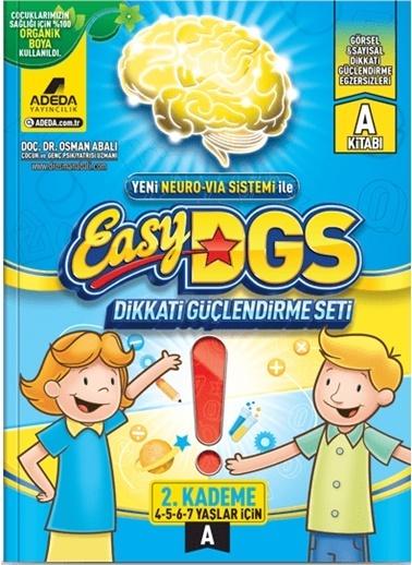 Morhipo kitap Easy DGS Dikkati Güçlendirme Seti 2. Kademe A Kitapçığı (4 - 7 Yaş) Renkli